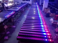 Production Line of LED Pixel Wall Washer Light 2018-02-10