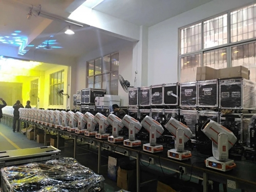 Production Line of 260w Beam Moving Head light 2018-05-15