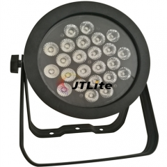 JTLite-P14 24LED fanless slim flat par light