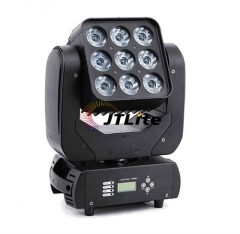 JTLite-M09 9x10w RGBW 4 in 1 Led Moving Head Matrix Light