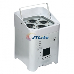 JTLite-BP08 4*18W 6in1 LED Wireless Battery Par Light (APP control)