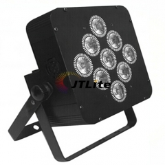 JTLite-BP03 9LED battery led wireless wifi par light