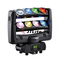 JTLite-M10C 8x10w led double layer spider moving head light